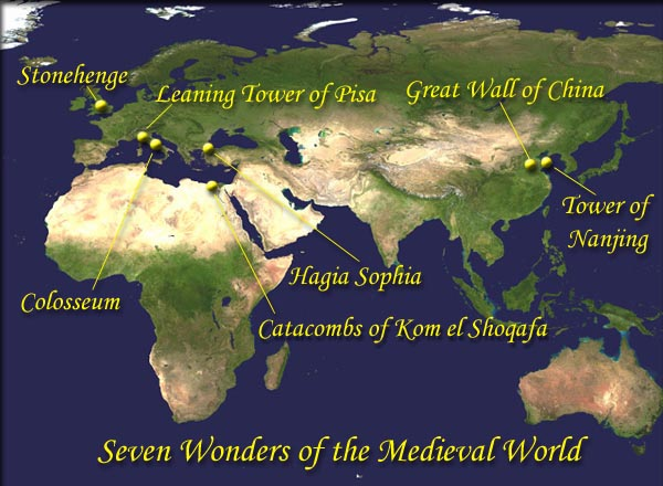 Seven Wonders of the Medieval World