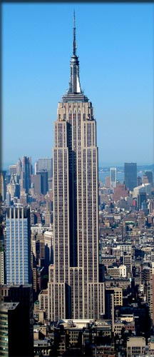 seven wonders empire state building