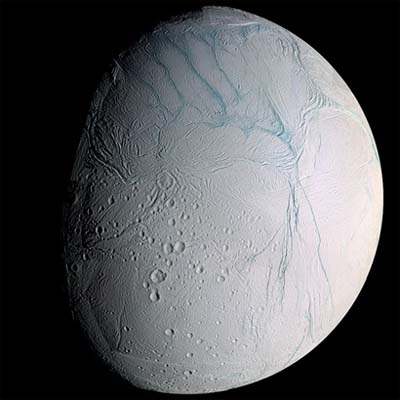 The Seven Wonder Of The Solar System Enceladus