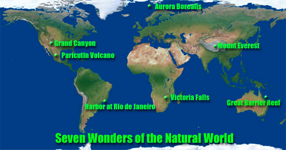 Seven Natural Wonders Of The World Images of ecological wonders
