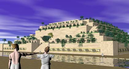 The Hanging Gardens Were Said To Have Been Built Please King Nebuchadnezzar S Wife Amyitis Copyright Lee Krystek 2010