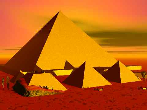 Seven Wonder of the Ancient World: Khufu's Great Pyramid