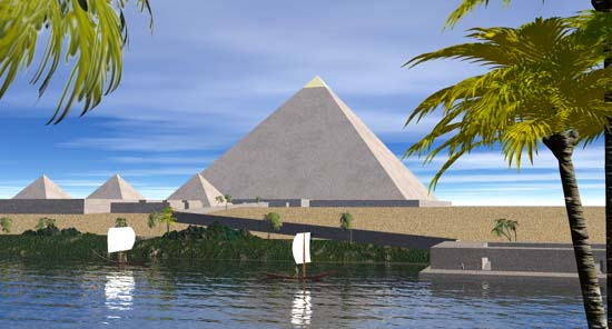 seven wonder of the ancient world khufu s great pyramid