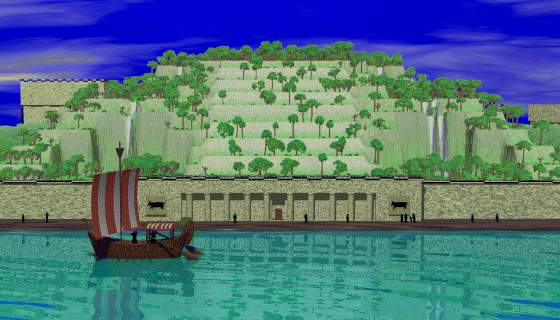 Hanging Gardens of Babylon From the Neo-Babylonian Period Under Nebuchadnezzar II (Lee Krystek)