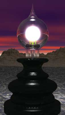 The UnMuseum - Who Invented the Lightbulb?:Edison's incandescent lamp lit the world, but did he really invent it?  (Copyright Lee Krystek, 2002.),Lighting