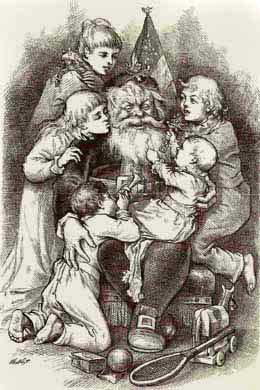 The Christmas Visions Of Thomas Nast