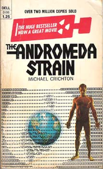 who wrote the andromeda strain