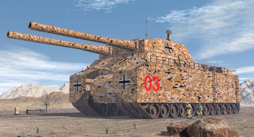 Super tanques nazis